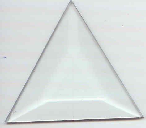 3 x 3 x 3 Triangle Bevel Box of 30