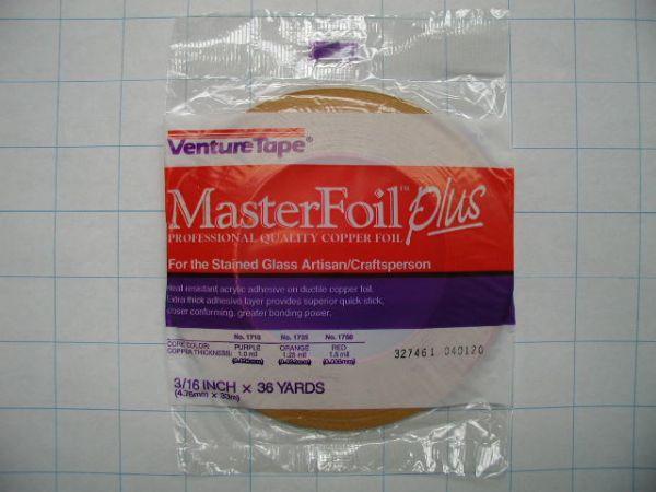 Foil Venture Copper 3 16 Quot 1 5 Mil X 36 Yard Roll 3243 Foil