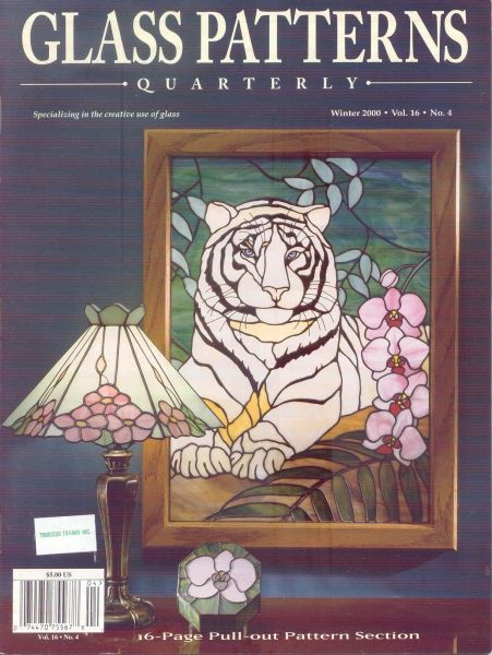 GLASS PATTERNS QUARTERLY 400 WINTER VOL 400 NUM 40 40 GLASS Fascinating Glass Patterns Quarterly