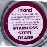 "INLAND DB100 DIAMOND COATED STAINLESS STEEL BLADE 37.7"" 7024"