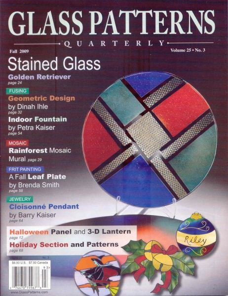 Glass Patterns Quarterly 40 Fall VOL 40 NUM 40 Stained Glass 40 Inspiration Glass Patterns Quarterly